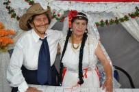 OĞLAN - Manisa'da İmece Usulü Kısır Düğünü