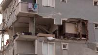 DOĞALGAZ PATLAMASI - İstanbul'da binada patlama!