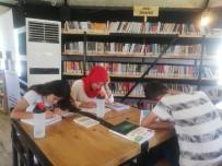 GEZİCİ KÜTÜPHANE - Kıl Çadırlardan Yapılan Kütüphane Gençlerin Hizmetine Sunuldu