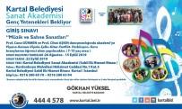 PERKÜSYON - Kartal Belediyesi Sanat Akademisi Genç Yetenekleri Bekliyor