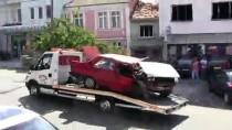 Bayramiç'te Trafik Kazası Açıklaması 3 Yaralı