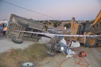 Selendi'de Traktör Devrildi Açıklaması 1 Ölü