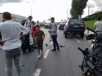 EMRE AŞIK - Yunus Ekibi Park Halindeki Araca Arkadan Çarptı, İki Polis Yaralandı