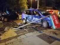 GÖZTEPE EĞITIM VE ARAŞTıRMA HASTANESI - Kadıköy'de Yürekleri Ağza Getiren Kaza Açıklaması 3 Yaralı
