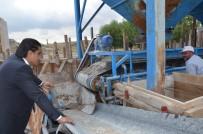 Gülşehir'de Kilitli Parke Taş Ocağı Faaliyete Geçti