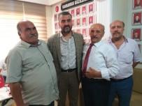 ÖVÜNÇ MADALYASI - MHP Heyeti Şehit Derneği Ziyaretlerini Sürdürüyor