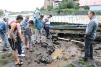SAĞNAK YAĞMUR - Samsun'da selde iki kişi hayatını kaybetti