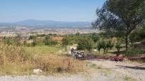 GÜRLEK - Gediz'de Motosiklet Kazası Açıklaması 1 Ölü