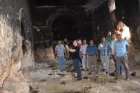 TARİHİ MEKAN - Kaymakam Dereci İle Ekinci Tarihi Hafeniş Mağaralarını İnceledi