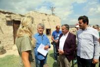 MESUT UÇAKAN - Başkan Cabbar 'Süveyda' Film Setini Ziyaret Etti