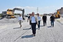 SIHIRLI DEĞNEK - Akhisar Belediyesinden Yol Yapımında Büyük Atak