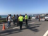 HUZURKENT - Yolun Karşısına Geçmeye Çalışan Çocuk Kazada Ağır Yaralandı