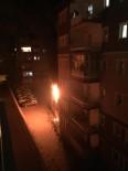 DOĞALGAZ PATLAMASI - Ağrı' Da Gece Yarısı Çıkan Yangın Paniğe Neden Oldu