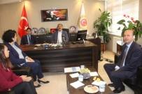 ORMAN VE SU İŞLERİ BAKANI - Eski Bakan Eroğlu Şuhut Kaymakamlığı'nı Ziyaret Etti