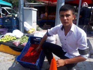 Şifa Kaynağı Kızılcık Pazar Tezgahında