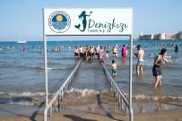 KıZKALESI - Engelli Plajlara Türkiye'nin Dört Bir Yanından Misafirler Geliyor
