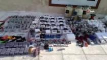 CANLI BOMBA - Jandarma ve MİT'ten Bab'da terör örgütü DEAŞ'a darbe