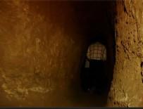 1800 yıllık tüneller ilk kez Beyaz TV'de görüntülendi
