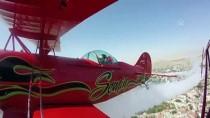 AKROBASİ PİLOTU - Akrobasi Pilotu Baba İle Kızından 'Büyük Zafer' Uçuşu
