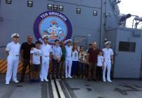 SARAYBURNU - TCG Oruç Reis Ve TCG Güven Savaş Gemileri Kapılarını Ziyaretçilere Açtı