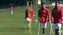AMPUTE MİLLİ TAKIMI - Ampute Milli Futbol Takımı'nın Düzce Kampı