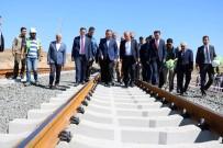 HIZLI TREN HATTI - Bakan Turhan Hızlı Tren Proje Çalışmalarını Yerinde İnceledi