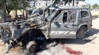 BOMBA DÜZENEĞİ - Azez'de Bombalı Araçla Saldırı Açıklaması 1 Ölü, 2 Yaralı