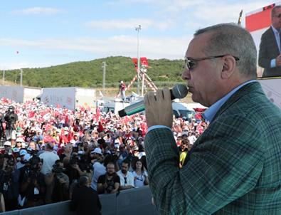 Cumhurbaşkanı Erdoğan: Fırat'ın doğusuna gireceğiz, Rusya ve ABD ile paylaştık