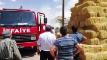 Kayseri'de Ev Ve Ahır Yangını