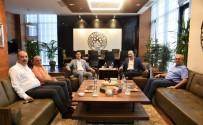 ALİ ALKAN - MHP Kayseri Milletvekili İsmail Özdemir'den KTO'ya Ziyaret