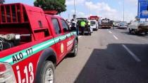KUMBAĞ - Otomobille Arazöz Çarpıştı Açıklaması 2 Yaralı