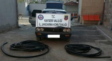 Enerji Nakil Kablosu Çalan Bir Kişi Tutuklandı