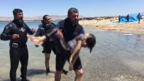 FERİBOT İSKELESİ - İranlı Ailenin Çocuğu Boğularak Hayatını Kaybetti