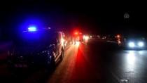 CELEP - İzmir'de İki Otomobil Çarpıştı Açıklaması 1 Ölü, 6 Yaralı