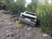 Manisa'da Trafik Kazası Açıklaması 4 Yaralı
