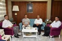 ABDURRAHIM ARSLAN - Başkan Çerçi Kent Konseyinin Yeni Yönetimini Ağırladı