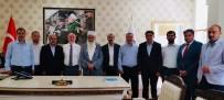 İSMAIL AYDıN - Din-Bir-Sen Genel Başkan Yardımcısı Adli'den Müftü Keskin'e Ziyaret