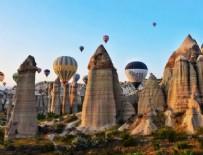 Kapadokya'yı temmuz ayında 393 bin 728 turist gezdi