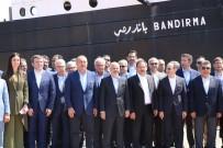 AKİF ÇAĞATAY KILIÇ - Bakan Çavuşoğlu Ve Büyükelçiler 'Bandırma Vapuru'nu Gezdi