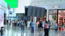 TURAN YıLMAZ - İstanbul Havalimanı'nda Bayram Yoğunluğu