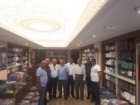 BAHATTİN ÇELİK - Siirt TSO Öncülüğündeki Heyet; İstanbul'da Tekstil Firmalarını Ziyaret Etti