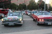 KLASİK OTOMOBİL - Klasik Otomobillerden Gastrofest'e Destek Korteji