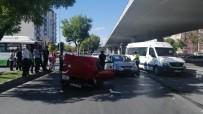 NATO - Otomobiller Çarpıştı Açıklaması 1 Yaralı