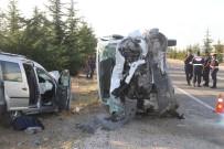 Eskişehir'de Feci Kaza Açıklaması 2 Ölü, 2 Yaralı