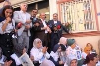 KAZ DAĞLARI - HDP Önünde Eylem Yapan Ailelere Aşiret Liderlerinden Destek