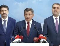 AYHAN SEFER ÜSTÜN - Ahmet Davutoğlu AK Parti'den istifa etti