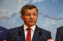 AYHAN SEFER ÜSTÜN - Ahmet Davutoğlu, AK Parti'den İstifasını Açıkladı, Yeni Siyasi Parti Sinyali Verdi