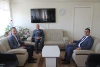 Ağrı Milli Eğitim Müdürü Tekin, Taşlıçay Kaymakamı Ersöz'e 'Hayırlı Olsun' Ziyareti