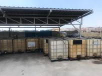 AKARYAKIT KAÇAKÇILIĞI - Nakliye Firmasına Ait Yer Altı Tankında 13 Bin Litre Kaçak Akaryakıt Ele Geçirildi