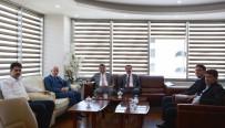 CEM ZORLU - Rektör Zorlu'dan Konya SMMMO'ya Ziyaret